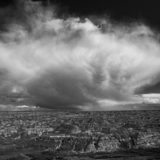 Storm cloud over Hoodoos