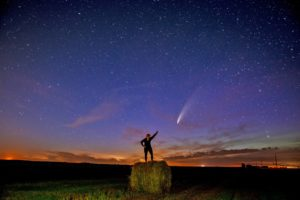 Calgary commercial photographer, Comet Neowise