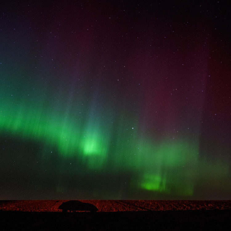 Comet Neowise, space weather, Alberta aurora chasers, Christy Turner