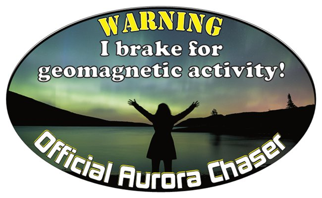 official aurora borealis geomagnetic activity